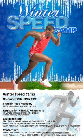 Winter Speed Camp