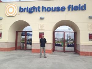 Matt at Bright House Field