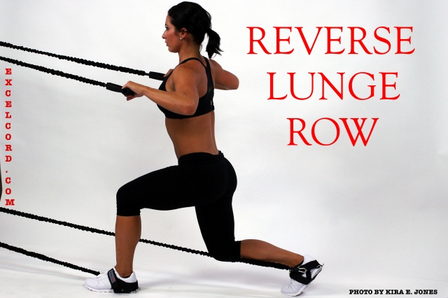 Reverse Lunge Row
