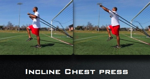 ExcelCord Incline Chest Press